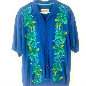 Tommy Bahama 100% Silk ShortSleeve Shirt